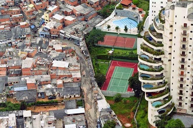 Sau Paulo, kota dengan kesenjangan sosial yang tinggi