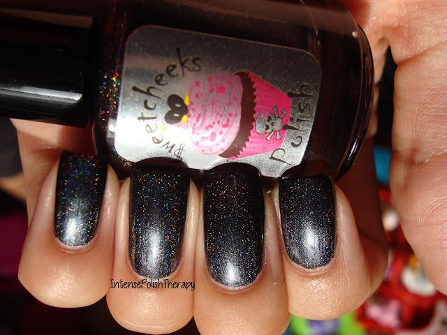 Sweetcheeks Polish - Black Ice