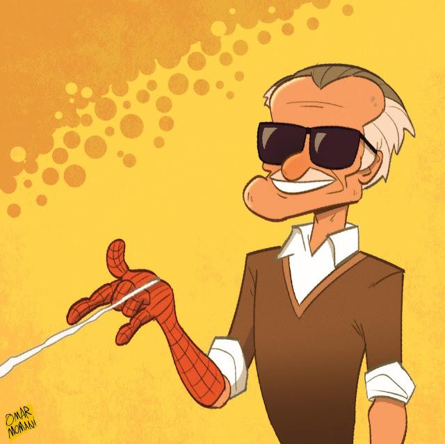 Stan Lee caricature