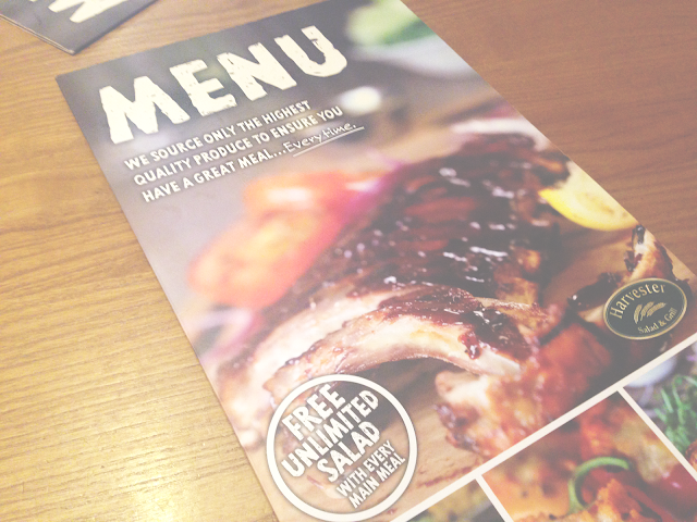 Harvester Southwater | Review.