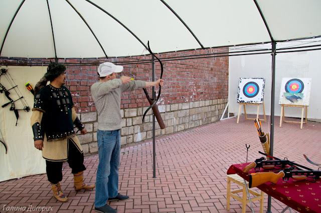 Стрельба из арбалета в Казани