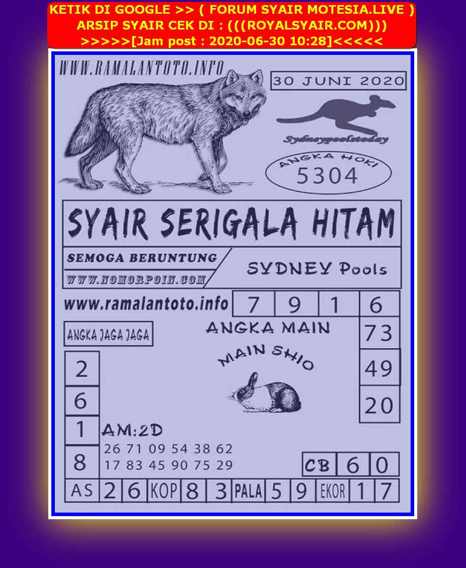 Kode syair Sydney Selasa 30 Juni 2020 195