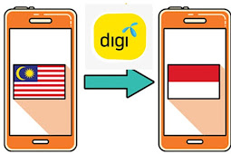 Cara transfer pulsa digi ke indonesia