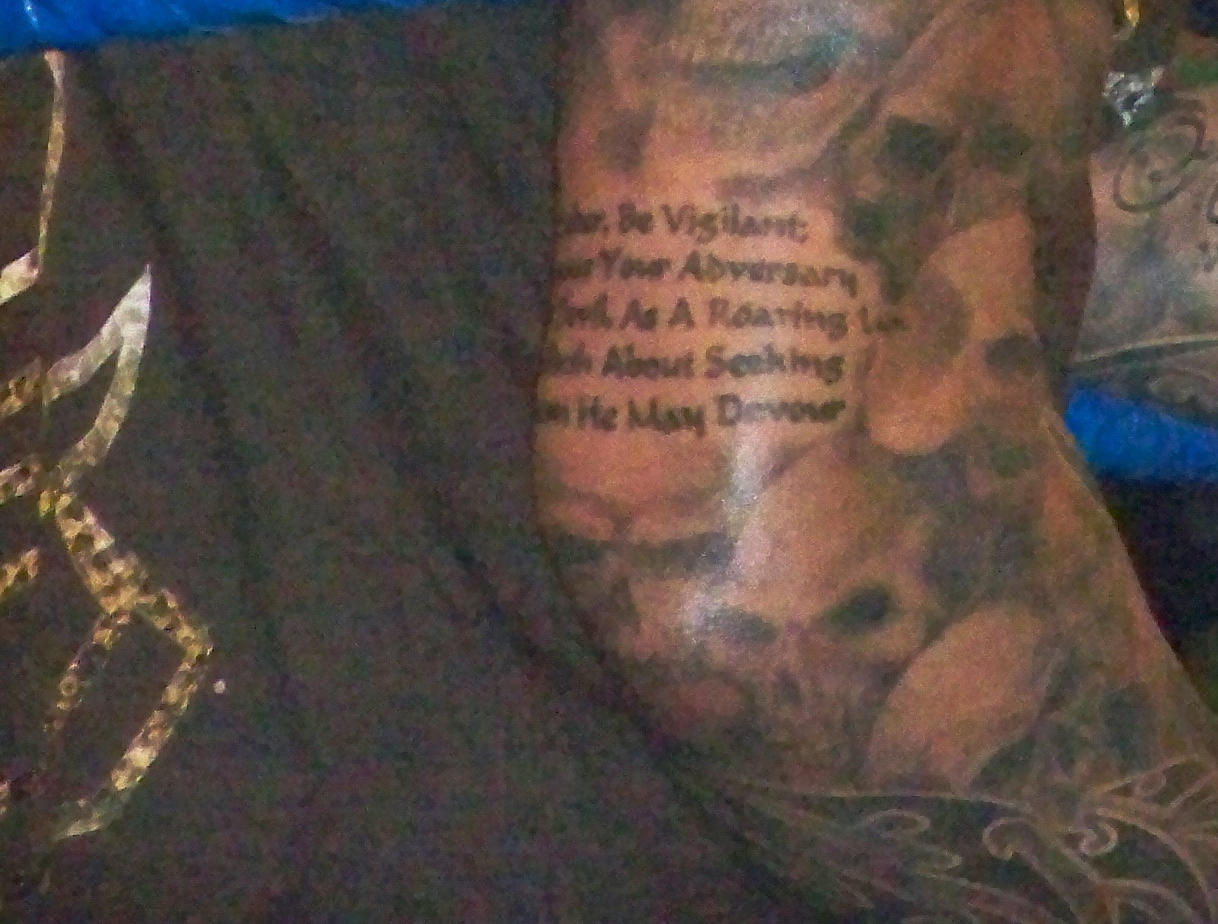 Image Gallary 1: Randy Orton tattoos beautiful pictures