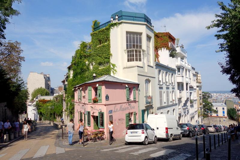 Paris la maison rose montmartre petite histoire et grands artistes 2 r - La maison douce blog ...