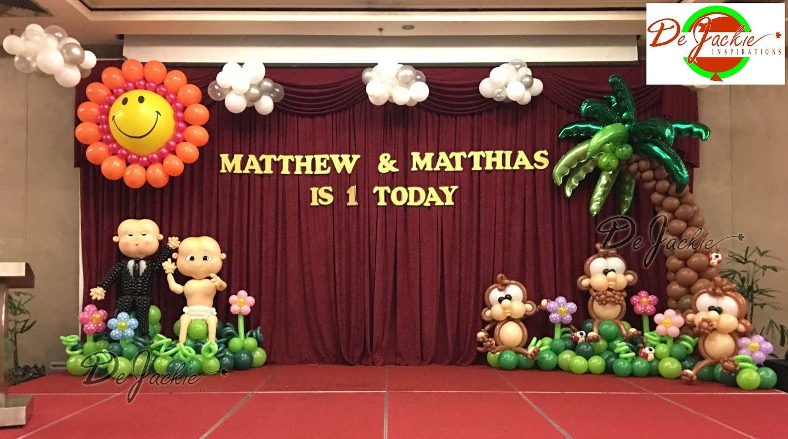 Balloon decorations for weddings birthday parties for B day decoration photos