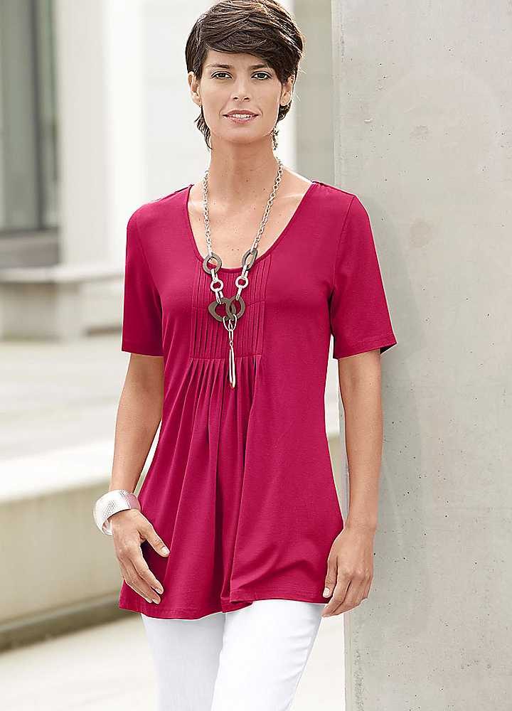 WOMENS TUNIC TOPS WEAR BLOUSES Fashionable Image Of