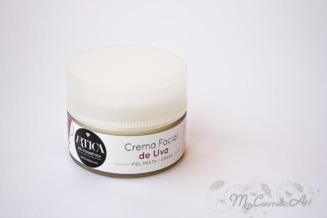 Crema facial Ecológica para piel grasa de Ártica Bio. Mi cosmética bio y más...