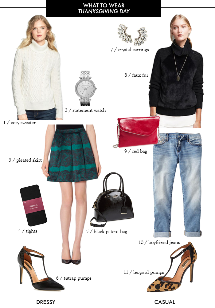 thanksgiving day, dressy look, casual look, leopard pumps, boyfriend jeans, nordstrom, michael kors watch