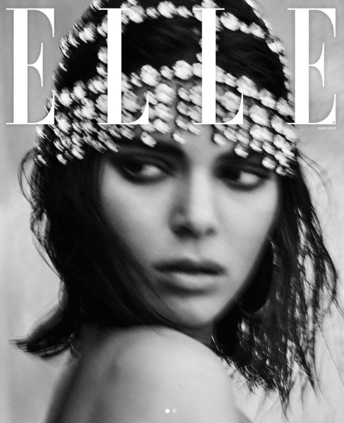 Luxury Makeup Kendall Jenner' Looks So Hot In Elle Magazine And Share Her Daily Makeup Look 2018