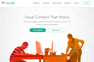 Visual.ly makes premium content creation fast, simple, and affordable