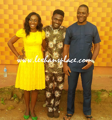 uche, i and richi for lexhansplace