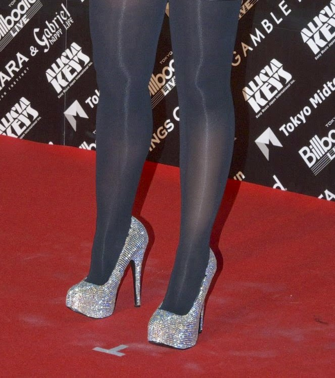 Recommend you alicia keys in pantyhose