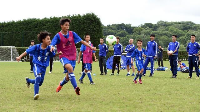 adidas se une al gobierno chino para promover el fútbol