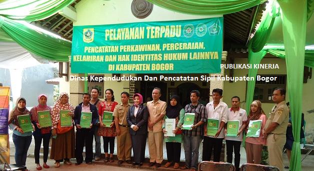 Kinerja Dinas Kependudukan Dan Pencatatan Sipil Kabupaten Bogor