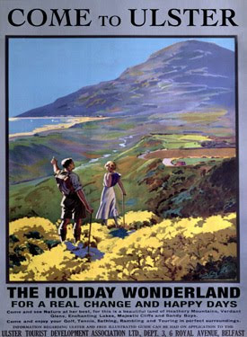 Northern Ireland, Ulster, Holiday Poster, Comedy