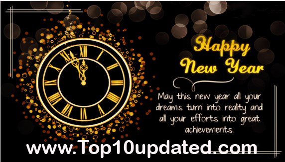 Top 10 Happy New Year 2021 Wishes Images Quotes - Top 10 Updated