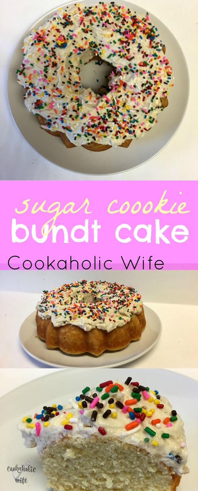 Wondrous Bundtbakers Sugar Cookie Bundt Cake Cookaholic Wife Personalised Birthday Cards Akebfashionlily Jamesorg