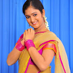 Chiry New Tollywood Actress Cute In Half Saree Stills