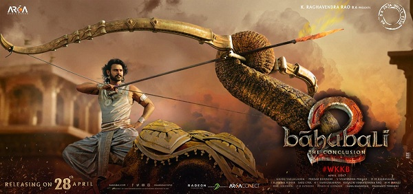 Baahubali 2 2nd Saturday (9th Day) Box Office Collection