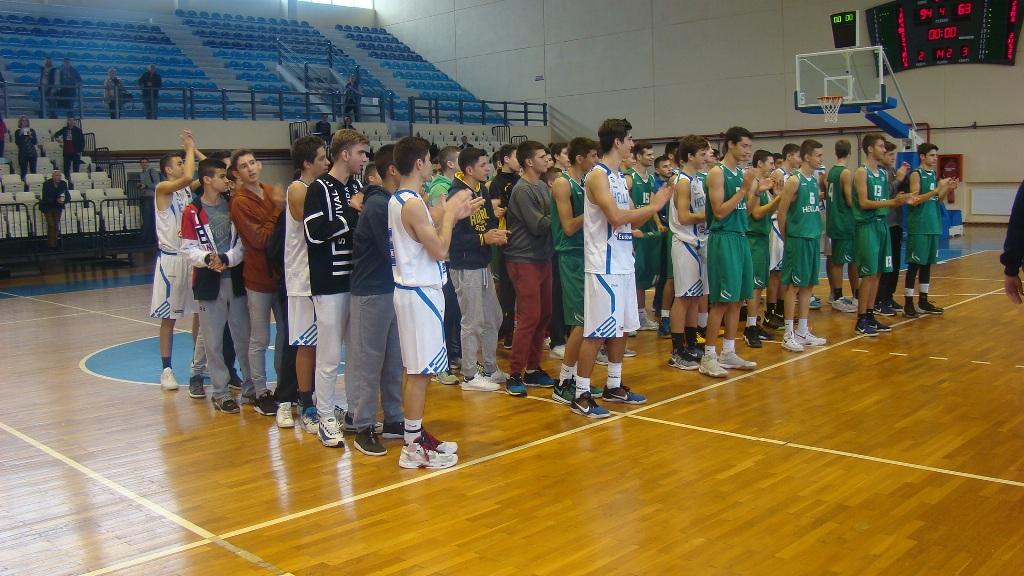 Βasketball Camp Cadets FIBA Europe-ΕΟΚ | Οι «Πράσινοι» νίκησαν τους «Ασπρους» στον αγώνα All Star (Φωτορεπορτάζ)