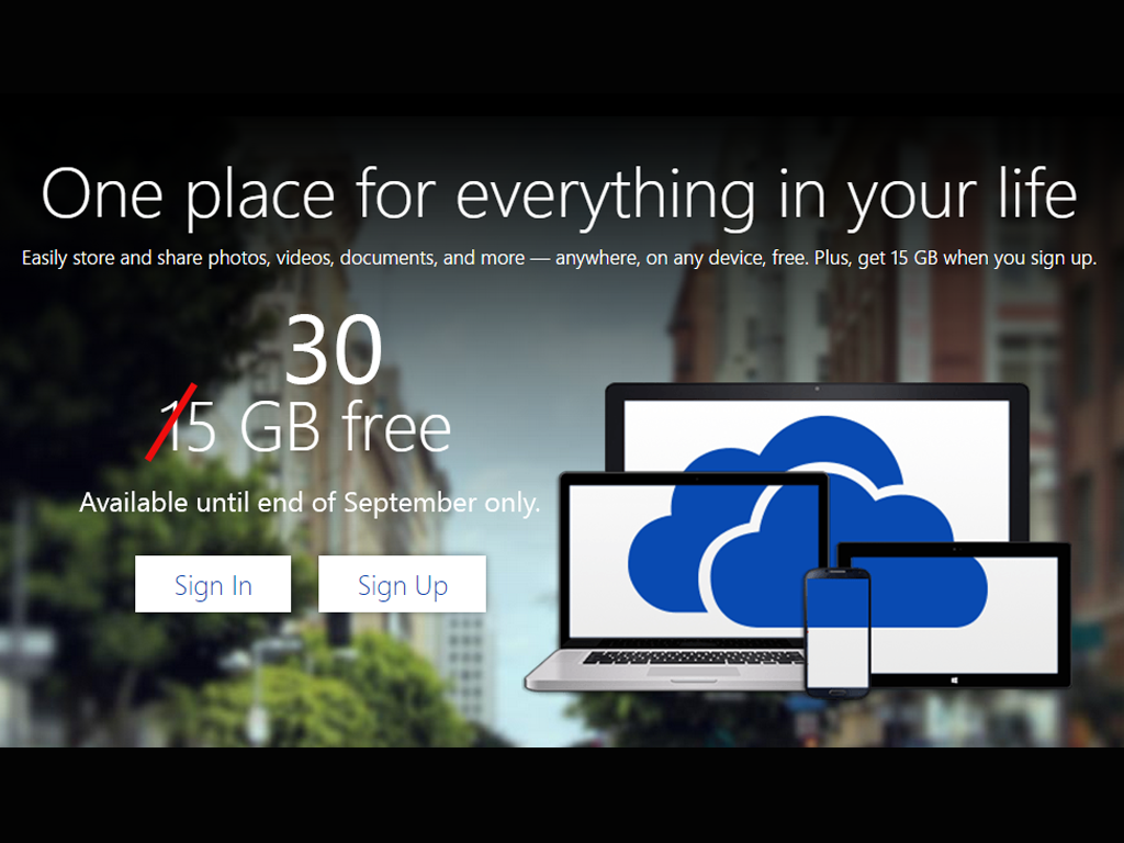 Microsoft Addresses iOS 8 Storage Issues by Increasing OneDrive Space up to 30GB