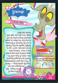My Little Pony Discord Series 1 Trading Card