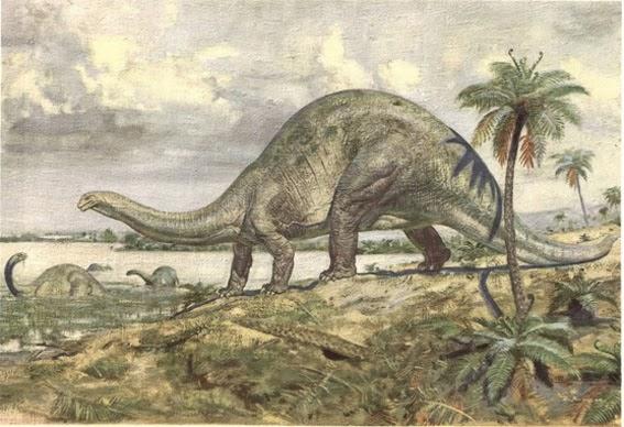 A Mesozoic Mosaic: Dinosaur news: The Largest Terrestrial