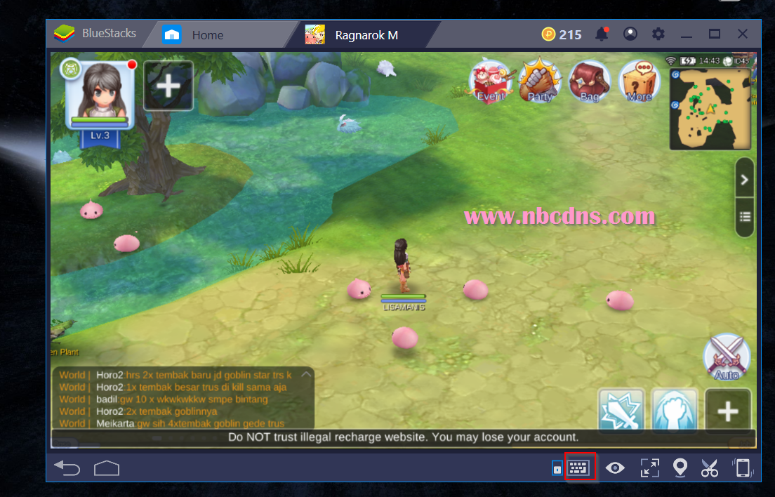 Cara Bermain Ragnarok M Eternal Love Di PC Windows 10 Dengan