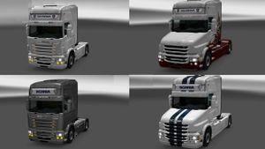 Scania RJL, T Lightbox mod