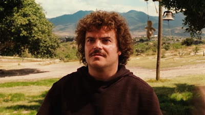Jack Black as a monk in Nacho Libre