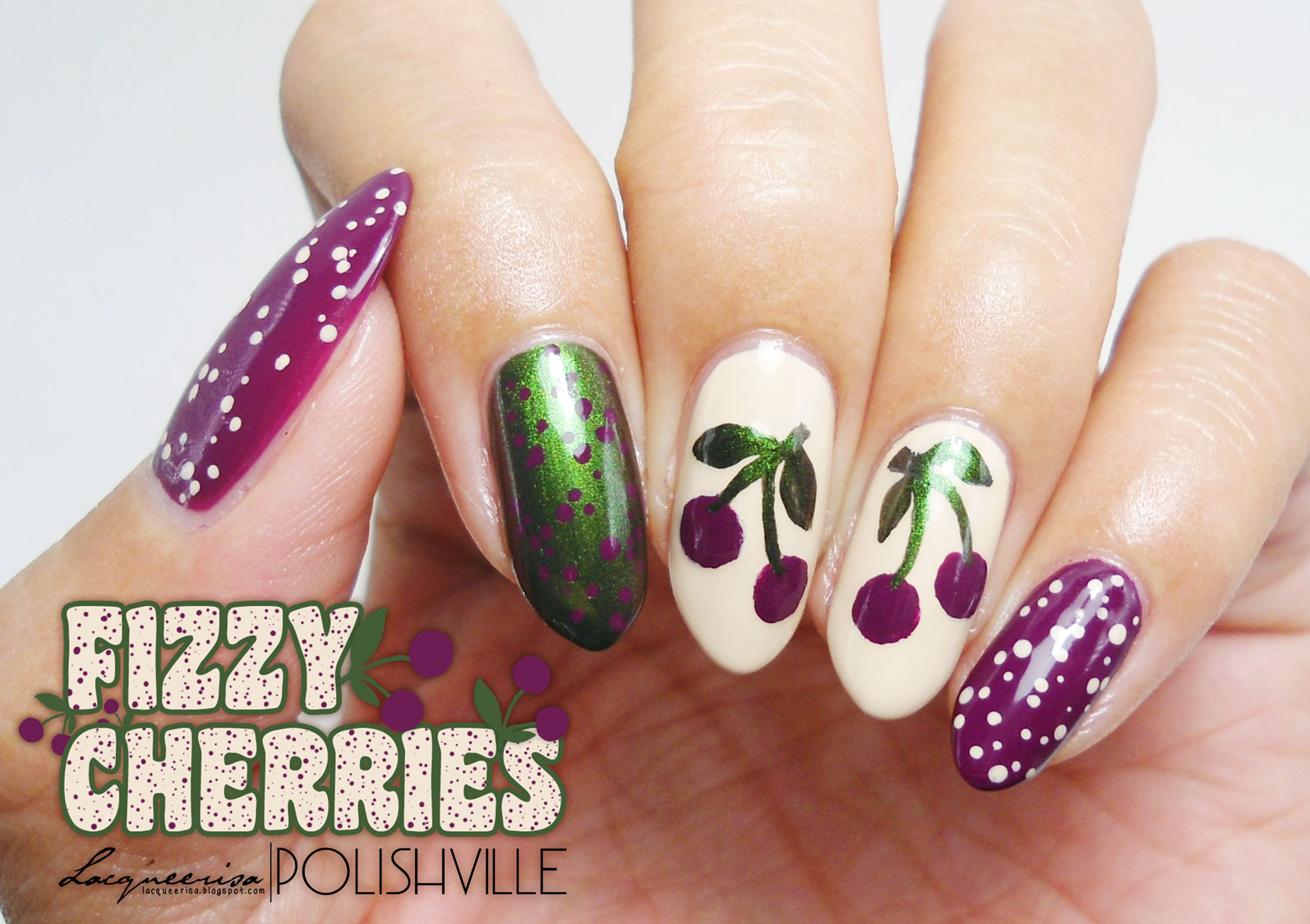 Fizzy Cherries, LacqueerisaXPolishville