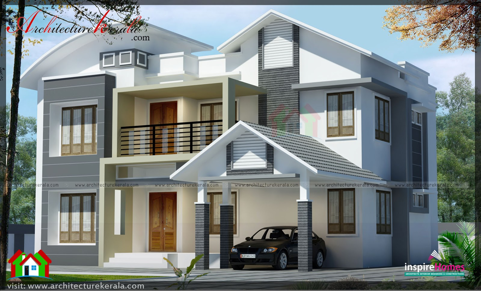 modern style house with swimming pool architecture kerala phenomenal kerala houses design provided by creo homes