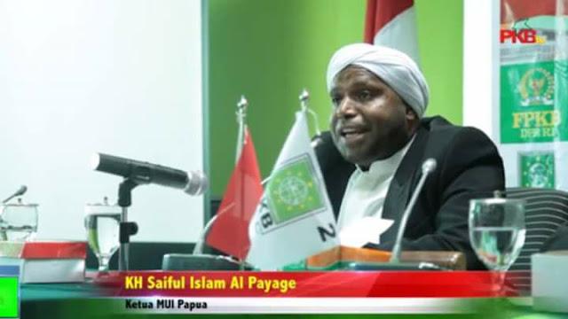 KH Saiful Islam Al Payage, Anak Pendeta yang Menjadi Ulama Besar Papua