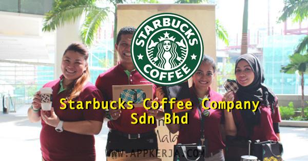 104 Kekosongan jawatan di Starbucks Coffee Company Sdn Bhd - April 2018