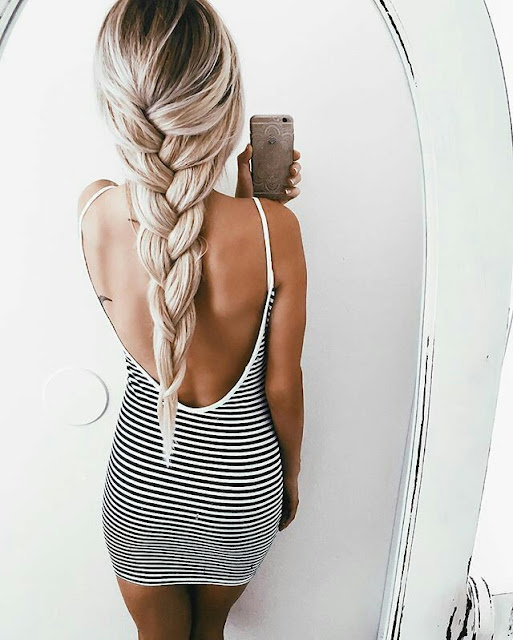 Long Fishtail briad Hairstyle