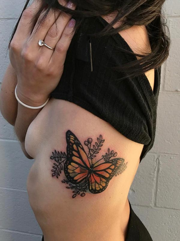 a82c3fecb Tattoos Design Ideas: 32 Best Attractive Butterfly Tattoo Designs ...