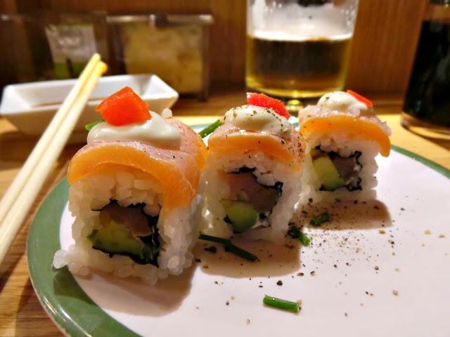 Matsuri restaurant japonais comptoir tournant paris la boëtie