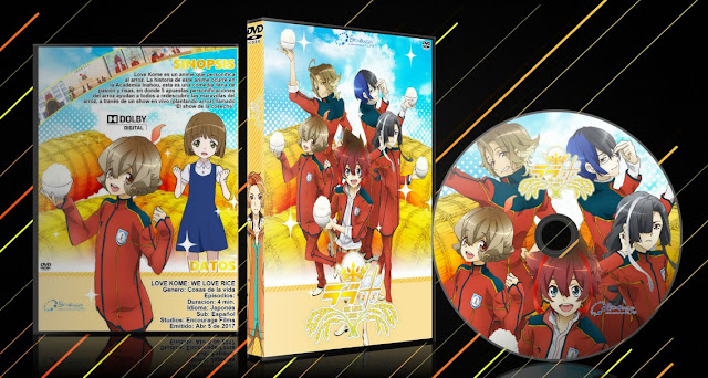 Love Kome: We Love Rice   Cover DVD  