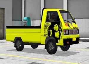 Livery Pickup Bussid Alay Pulang Malu Tak Pulang Rindu Kuning