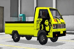Livery Keren MOD Mobil Pickup Bus Simulator Indonesia [BUSSID] Terbaru v3.0