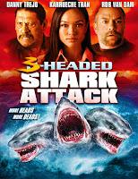 El ataque del tiburon de tres cabezas (2015) online y gratis