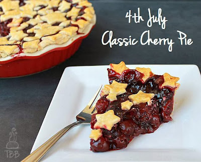 4th of July cherry pie