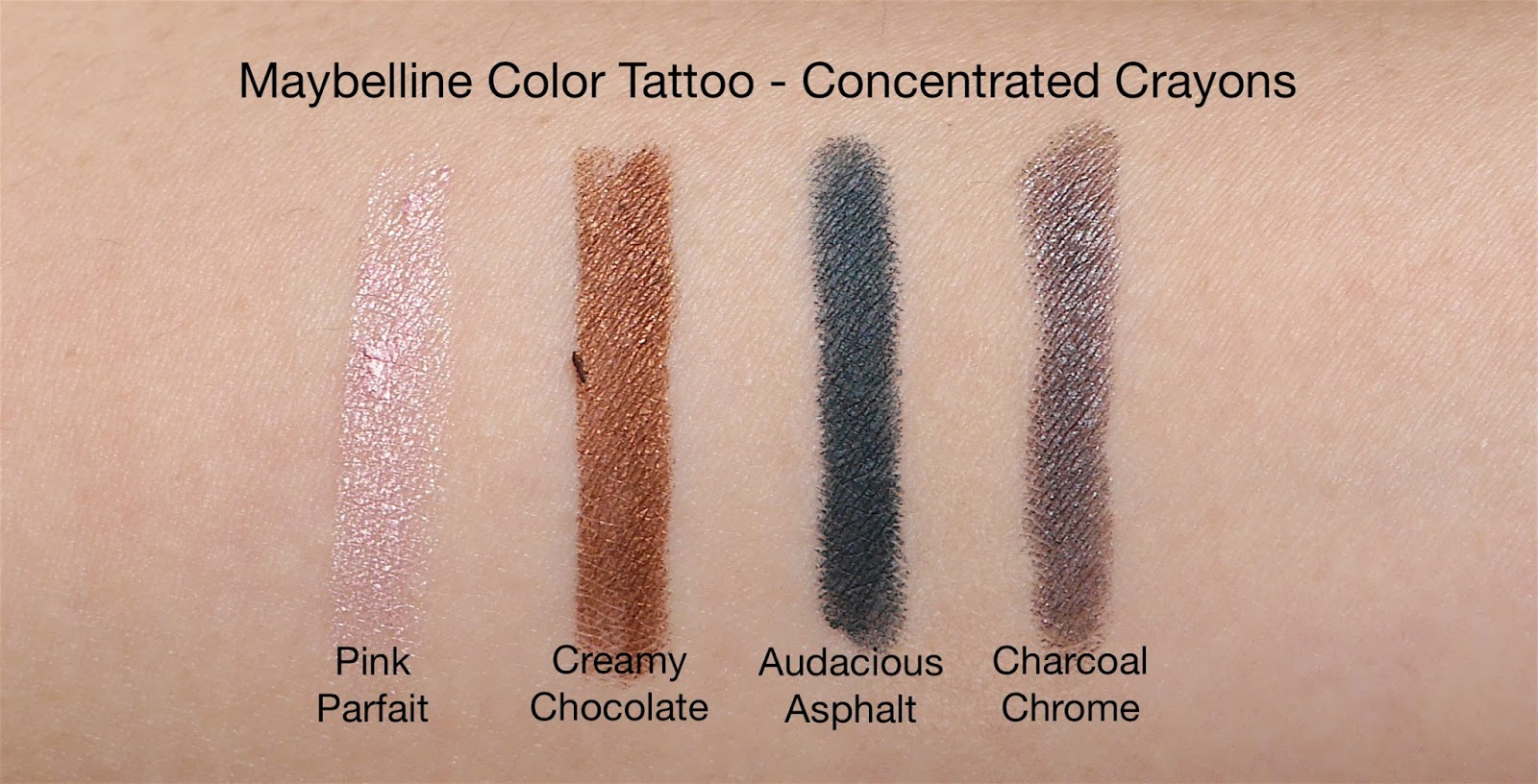 The maybelline color tattoo addition ft the concentrated for Color tattoo maybelline