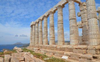 Wallpaper: Temple of Poseidon