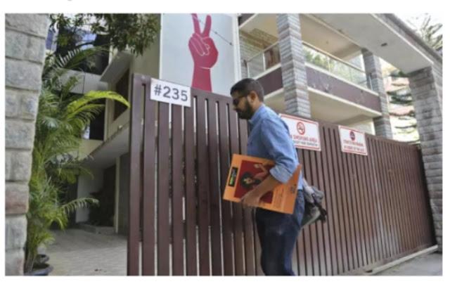 Amnesty sais raid at india office is aimes at silencing governement  critocs