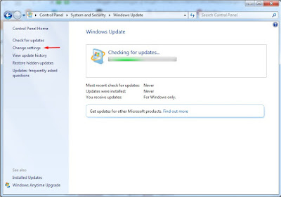 Cara Mematikan Windows Update pada Windows 7