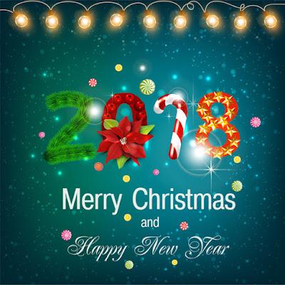 DP BBM Terbaru Selamat Natal dan Tahun Baru 2018