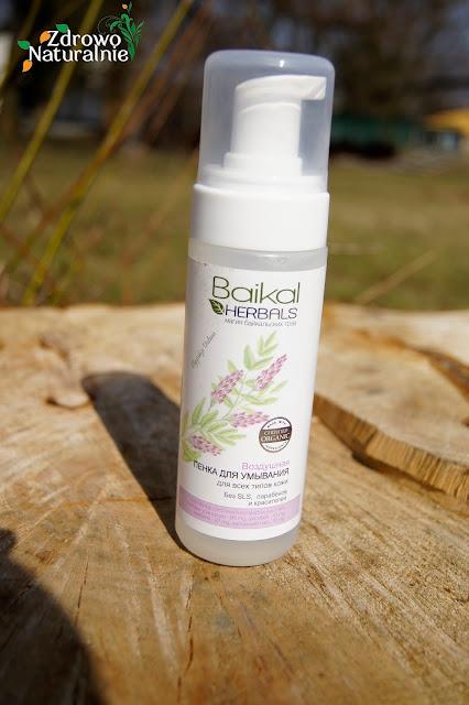 BAIKAL HERBALS  - Delikatna pianka do mycia twarzy