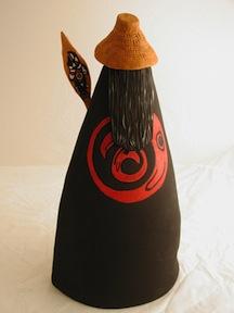 Canoe Ceremony, Canoe Paddle, Cedar strip hat